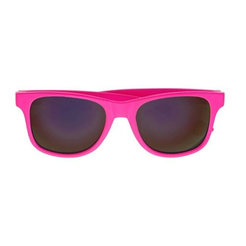 Pinke Neon Sonnenbrille