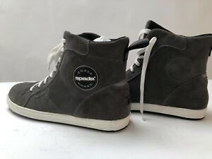 Spada-Strider-Motorcycle-Boots-Shoes-short-boot-suede-size-45-uk-10-5