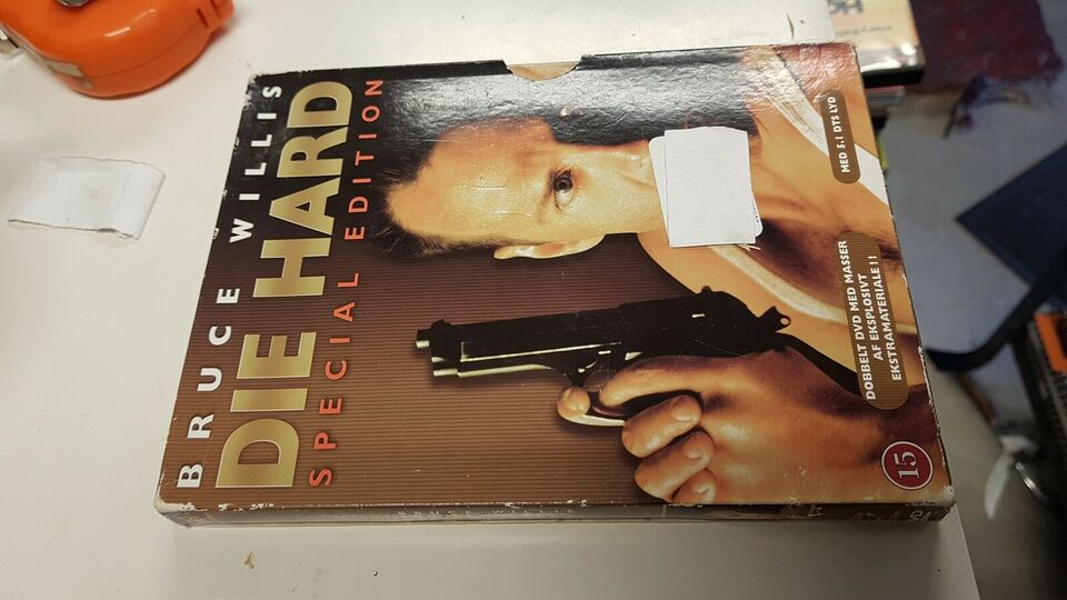 Die hard special edition, DVD, action