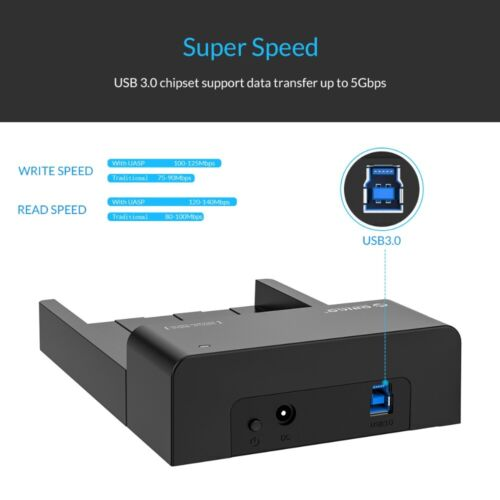Practical ORICO USB 3.0 HDD Docking Station For 2.5 //3.5 Inch Hard Drive