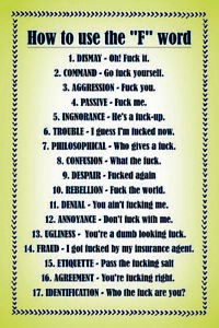 How-Comment-To-Use-The-F-Fuck-Word-Pancarte-en-Tole-Signe-Metal-Voute-Etain