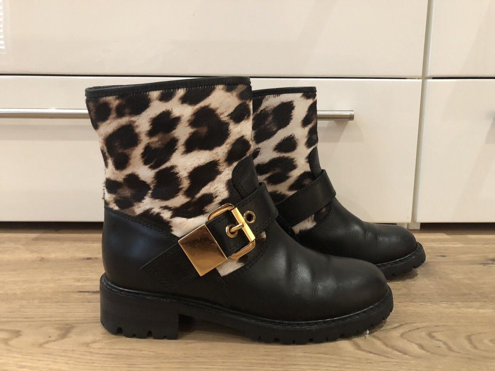 Giuseppe Zanotti Black Boots Size 37.5 37.5 37.5   UK 4.5 700738