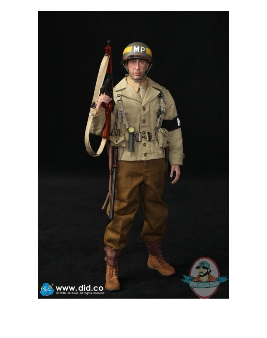 """1/6 2nd ArmoROT Division """"Military Police"""" Bryan Figure DiD A80116"""