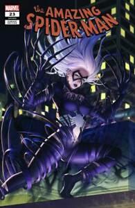 AMAZING-SPIDER-MAN-23-WOO-DAE-SHIM-VARIANT-MARVEL-COMICS-BLACK-CAT-VENOMIZED
