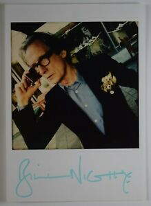Bill-Nighy-Signed-Official-Promo-Photo-Autograph-Harry-Potter-Film-TV-AFTAL-COA