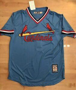 Ozzie Smith St Louis Cardnials Jersey 1 Light Blue