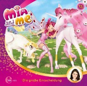 MIA-AND-ME-13-ORIGINAL-HSP-Z-TV-SERIE-DIE-GROssE-ENTSCHEIDUNG-CD-NEU