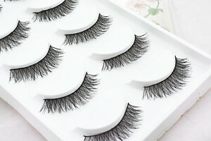 5-Pairs-Long-Thick-Handmade-Makeup-Fake-False-Eyelashes-Eye-Lashes-22