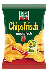 (10,99€/kg) Funny Frisch Chips ungarisch 30x 30g