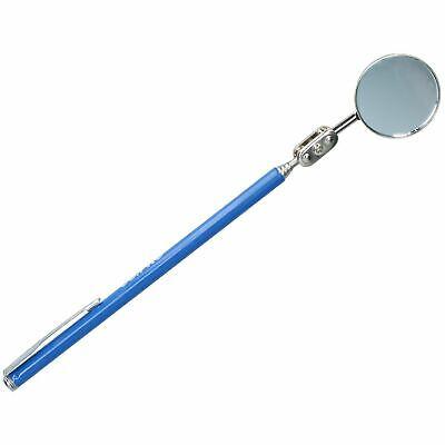 30 mm Télescopique Extensible Inspection Miroir Poignée en Caoutchouc Taille Extra Long AT914