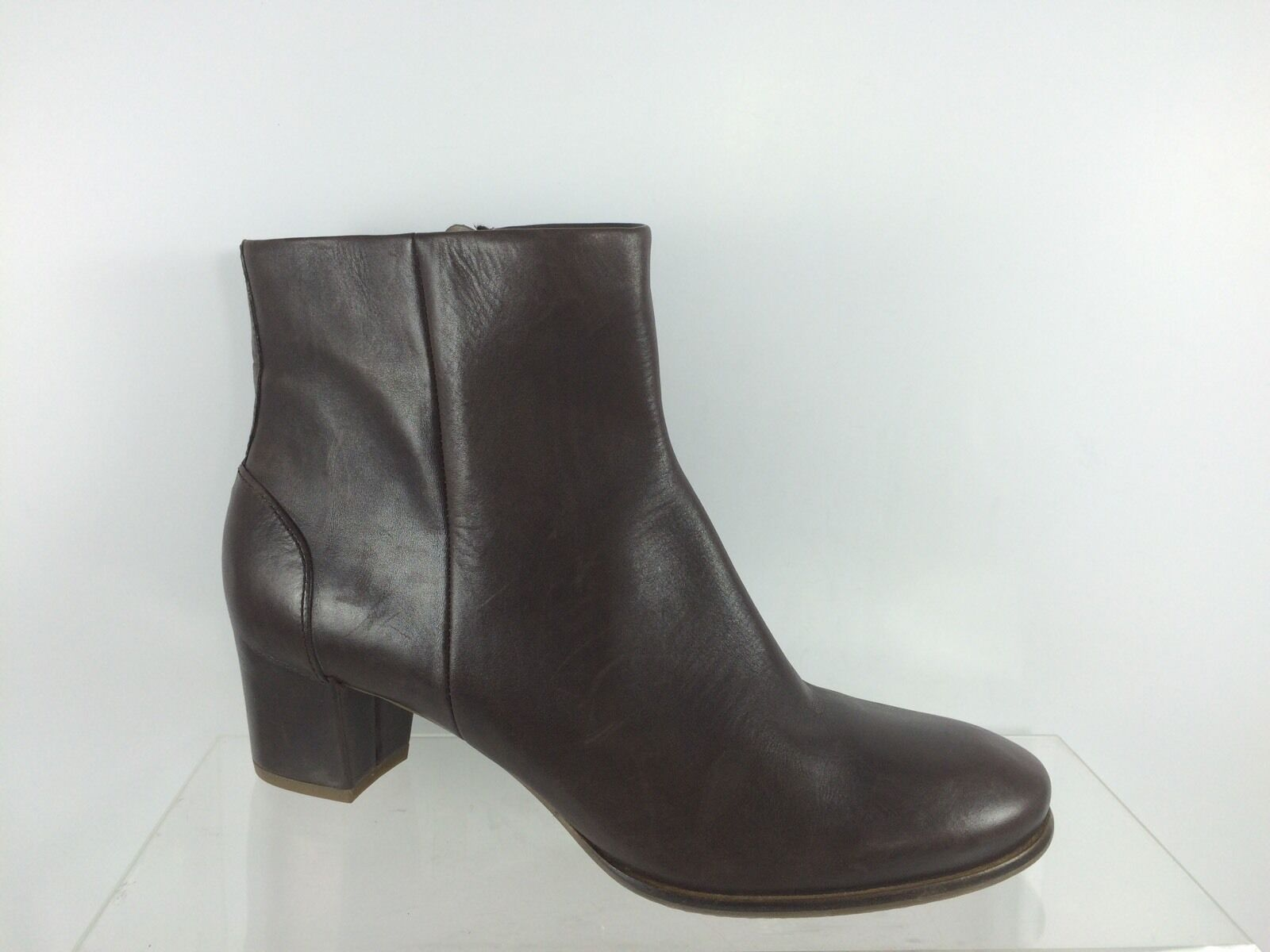 Ecco Womens Brown Leather Ankle Boots 41