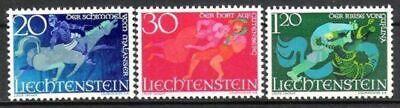 Postfrisch In Verschiedenen AusfüHrungen Und Spezifikationen FüR Ihre Auswahl ErhäLtlich Liechtenstein Vornehm Liechtenstein Nr.475/77 ** Sagen I 1967