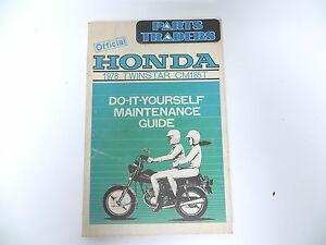 Oem honda do it yourself maintenance guide repair manual cm 185 t image is loading oem honda do it yourself maintenance guide repair solutioingenieria Choice Image