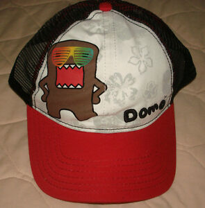 Image is loading NWT-Domo-Kun-Sunglasses-Trucker-Baseball-Cap-Hat- 7e290298a3aa
