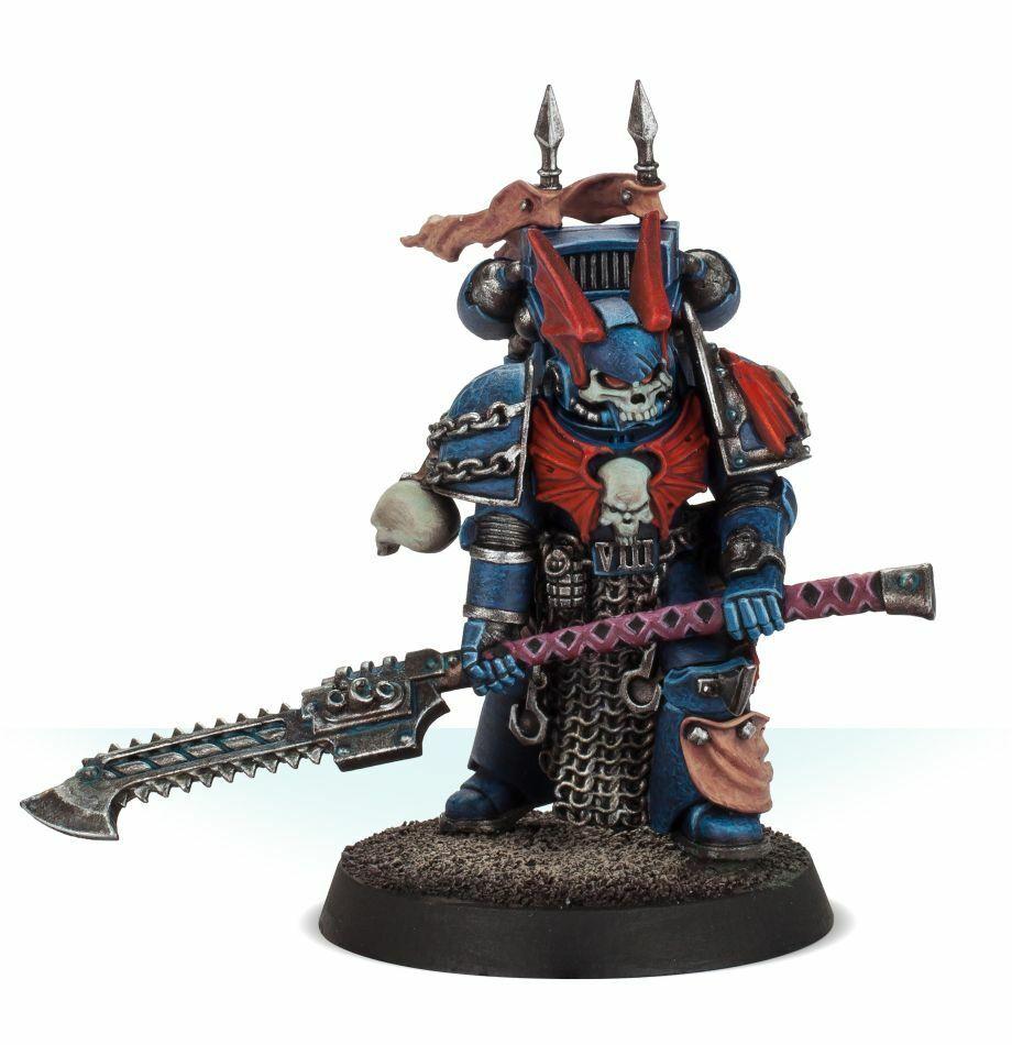 Noche señores Legión pretor magníficamente pintado warhammer 40K