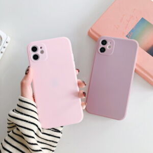 Square-Edge-Rubber-Silicone-Soft-TPU-Case-Cover-For-iPhone-11-Pro-Max-XS-XR-8-7