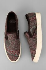 VANS WASHED PAISLEY SLIP ON SIZE 8 SUPREME WTAPS SYNDICATE BLENDS DILL VAULT