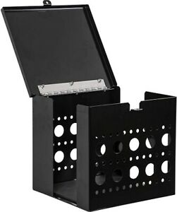 Buyers Products LT17 Multi-Tool Cage with Lid, Black