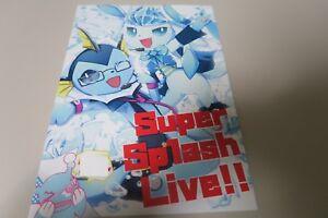 à Condition De Doujinshi Pokemon Glaceon X Vaporeon (a5 16pages) Isou Super Eclaboussure Live