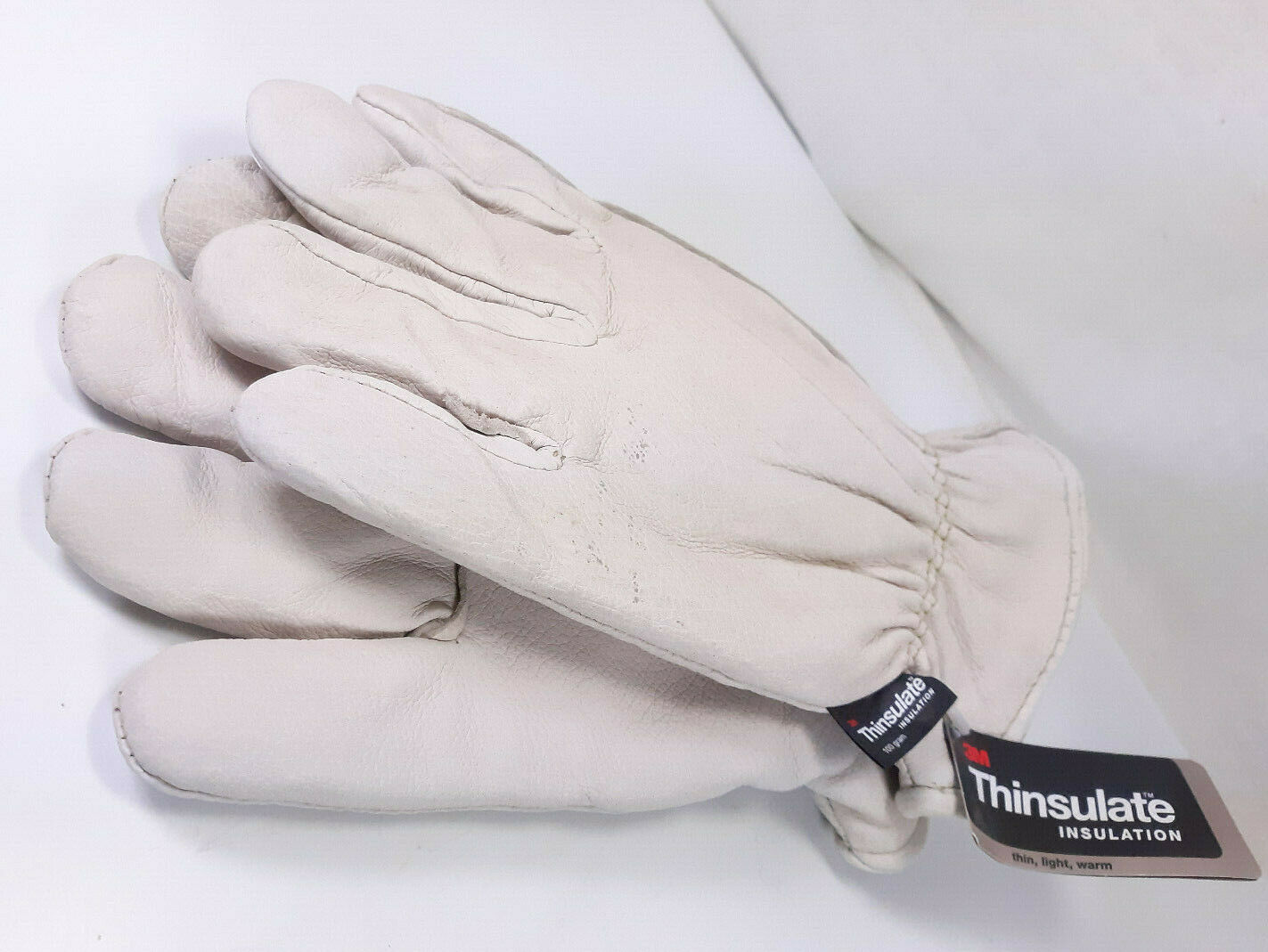 Pair of 3M Thinsulate Mens Insulated Leather Gloves XXL