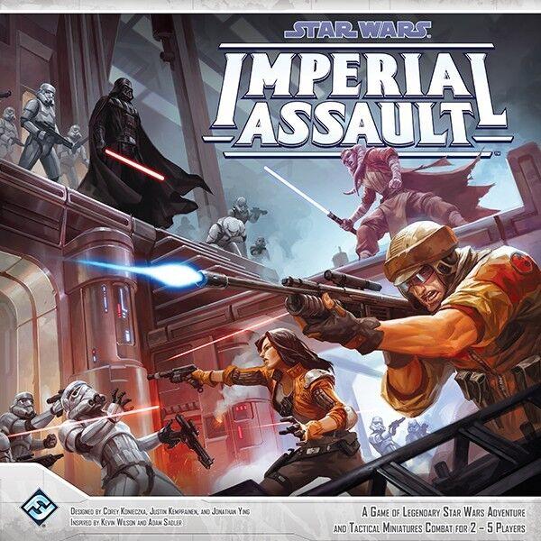Star Wars  Imperial Assault - Fantasy Flight Boardgame, New, English