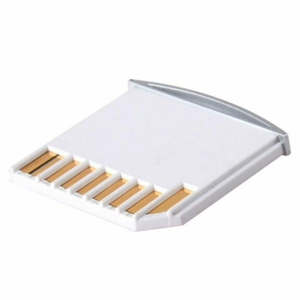 1x TF to Card Adapter For Pro Extra Storage Expansion White