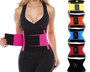 475574ecfc4 Xtreme Belt Waist Trainer Women Sauna Sweat Thermo Body Shaper Fever ...