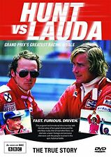 Hunt vs Lauda - The True Story (New DVD) F1 Formula 1 One James Niki