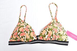 eb0a84bbc5b Image is loading Target-Xhilaration-Swim -Fashion-Grapefruit-Orange-Padded-Bikini-