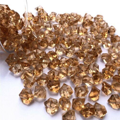 Decorative Glass Pebbles Stones Beads Vase Nuggets Wedding Decoration Home