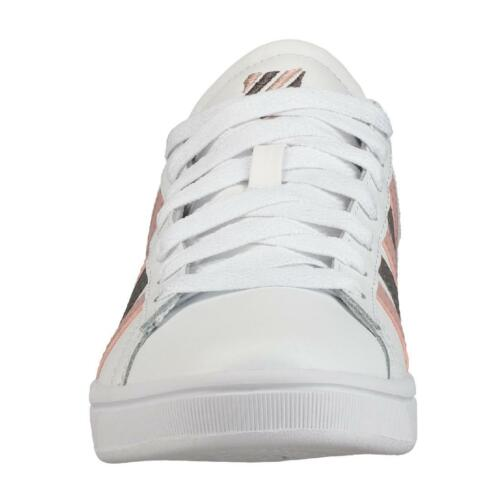 K-Swiss Court Winston Femmes Sneaker Sport chaussure 96154-152-m blanc//rose//mauve