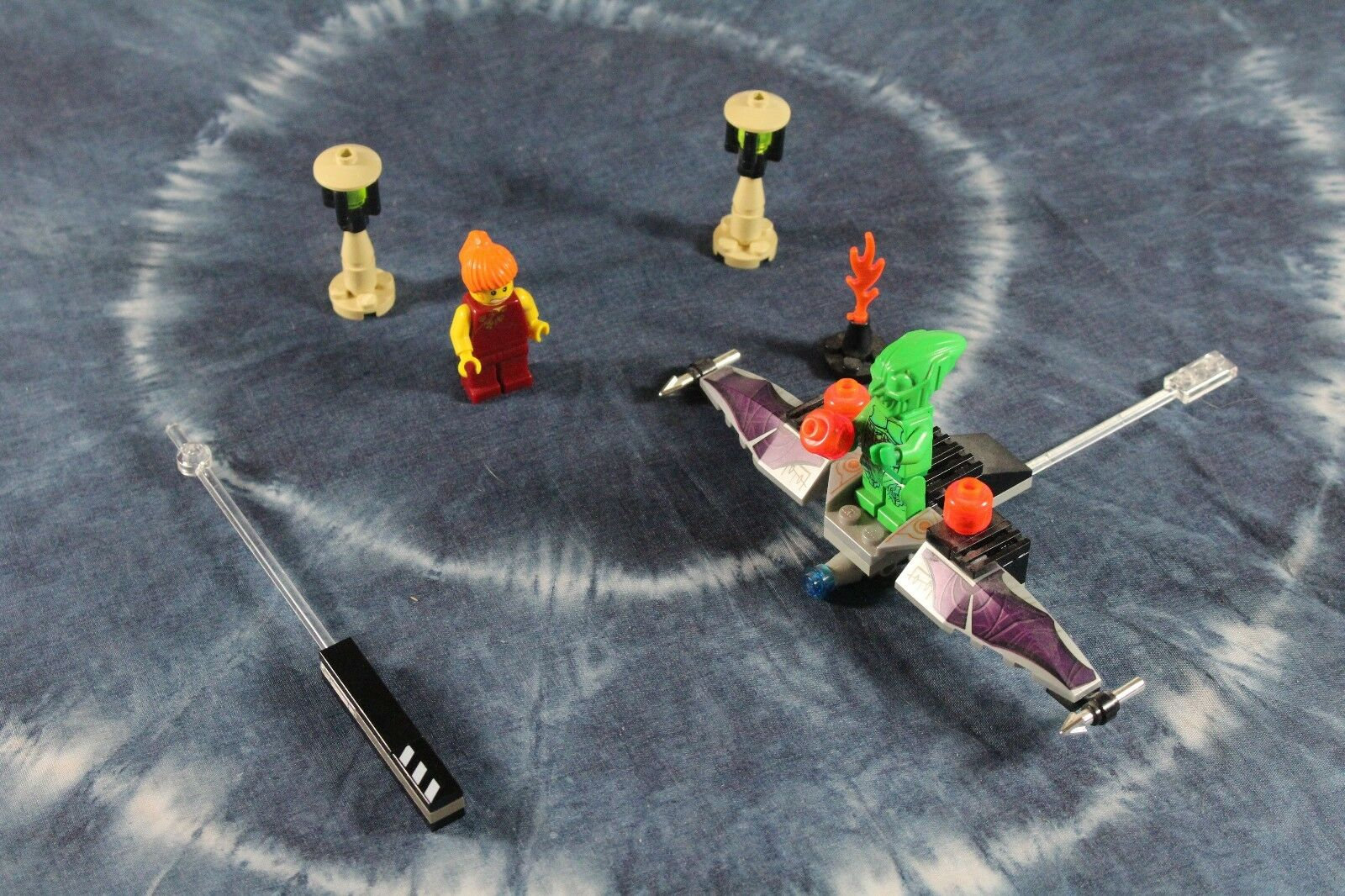 LEGO (1374) - STUDIOS - SPIDERMAN   GREEN GOBLIN - Includes Instructions. No Box
