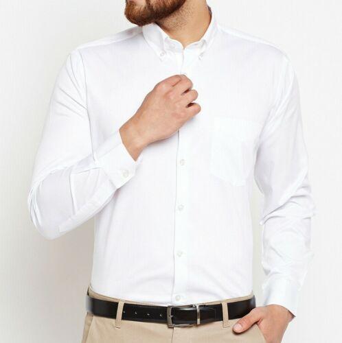 NUOVA linea uomo lusso formale camicia casual Slim Fit Colletto Tuta Manica Lunga Top Regalo