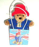 19cm Paddington In Union Jack Bag
