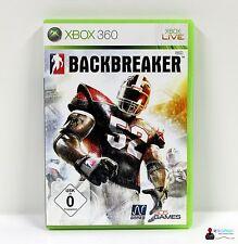 ★ XBOX 360 Spiel - BACKBREAKER - Komplett in Hülle OVP ★