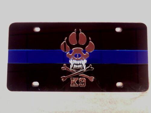 K9 Unit Police Dog License Plate Brand new!!