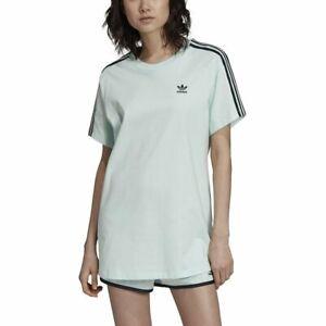 Détails sur T shirt adidas Oversized Vert Femme