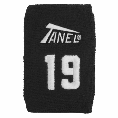 #19 Black Tanel 360 Custom Baseball//Softball Wristbands