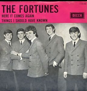 7inch-THE-FORTUNES-here-it-comes-again-HOLLAND-EX-60-039-s