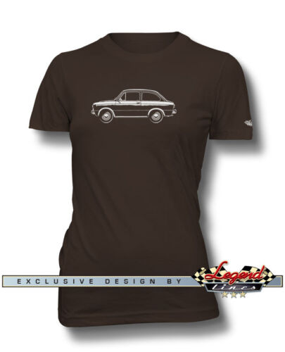 Multiple Colors /& Sizes Fiat 850 Special Coupe T-Shirt for Women Italian Car