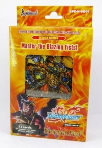 Trial Deck New Sealed Product Future Card Buddyfight 1x  Crimson Fist