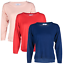 Blu-Cherry-Girls-Women-039-s-Crew-Round-Neck-knitted-Pullover-Jumper-Cashmere-Like thumbnail 1
