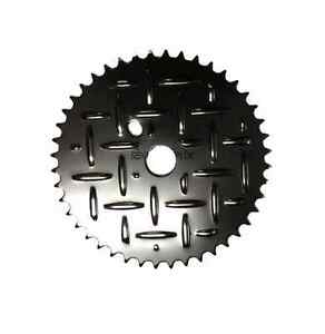 Dragster-Lowrider-Bicycle-Crank-Grate-Ring-Disc-44T-Black