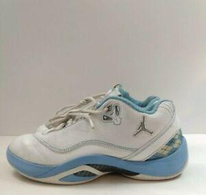 Jordan 2008 University Blue Size 7.5 White/ Baby Blue Shoes 332124 ...