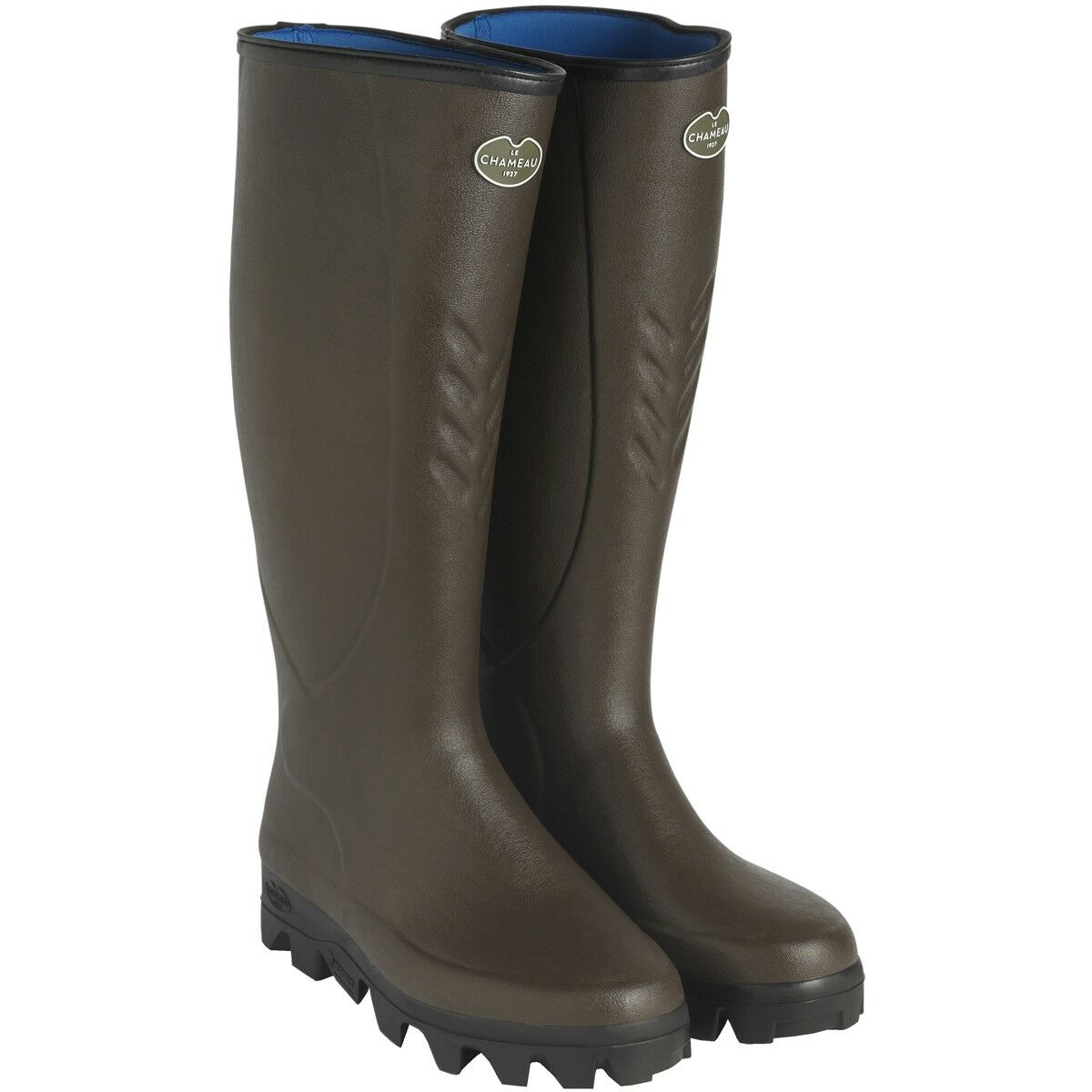 Le Chameau BTE Ceres Neo Neoprene Wellington Boots green Wellies