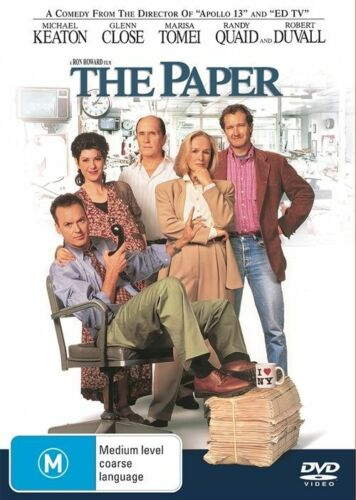1 of 1 - The Paper-DVD VERY GOOD CONDITION FREE POSTAGE AUSTRALIA WIDE REGION 4