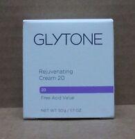 Glytone Rejuvenating Cream 20 - 50 / 1.7 Oz (new In Box)