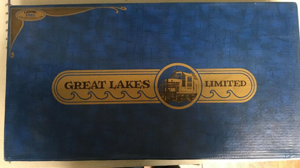 Lionel i treni Nº 1160 grei laghi limitata Treno Set 1981 vedi descrizione