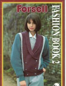 Forsell-Fashion-Book-2-1987-Machine-Knitting-Plymouth-Yarn-Co-UK-Pattern-Book