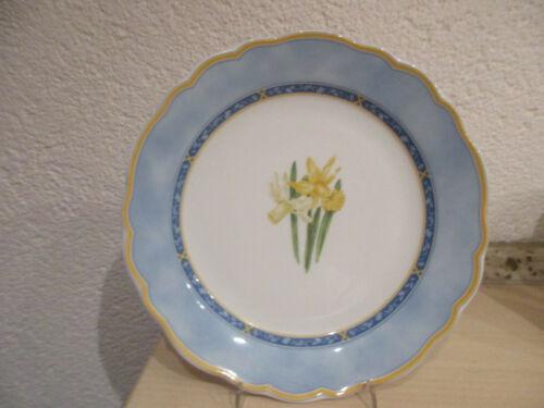 Hutschenreuther Maria Theresia Frühlingsboten Osterglocke Frühstücksteller 21 cm